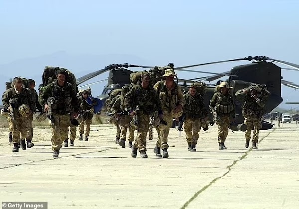 Last British troops to return home from Afghanistan today as role in two-decades long conflict ends