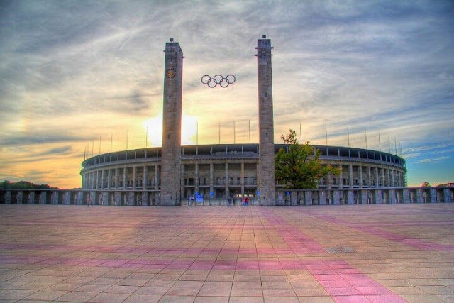 Olympiastadion Berlin Germany from Olympiastadion berlin draußen