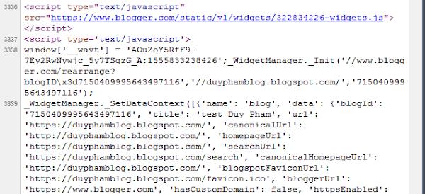 js Blogger