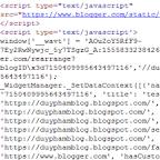 Loại bỏ CSS và Javascript mặc định của Blogger