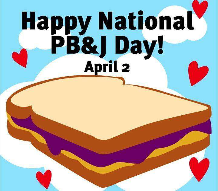 National Peanut Butter and Jelly Day Wishes Unique Image