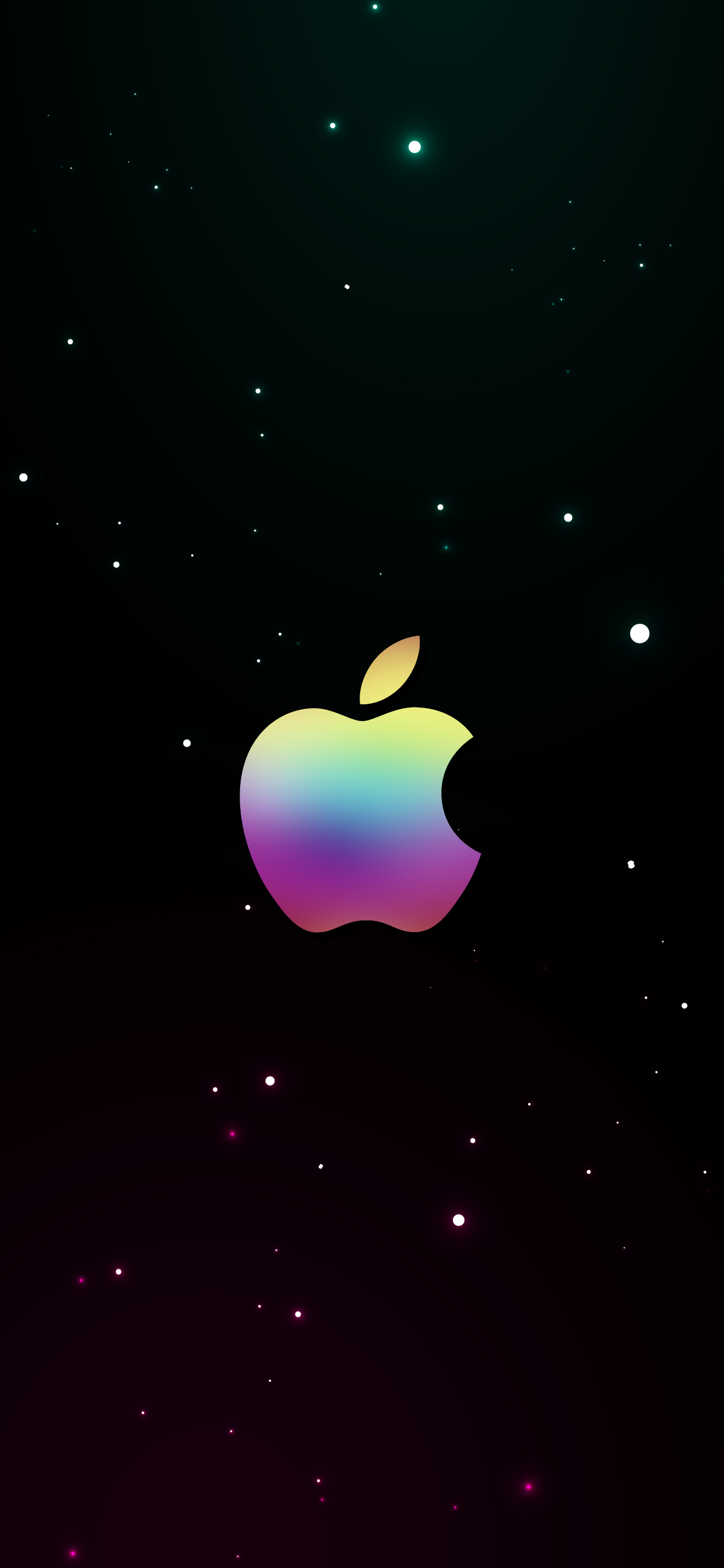 apple iphone wallpapers logo in a galaxy background hd