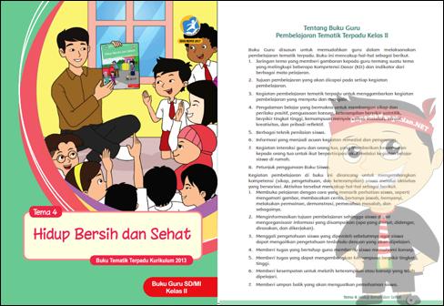 buku kelas 2 semester 1 kurikulum 2013 revisi 2017