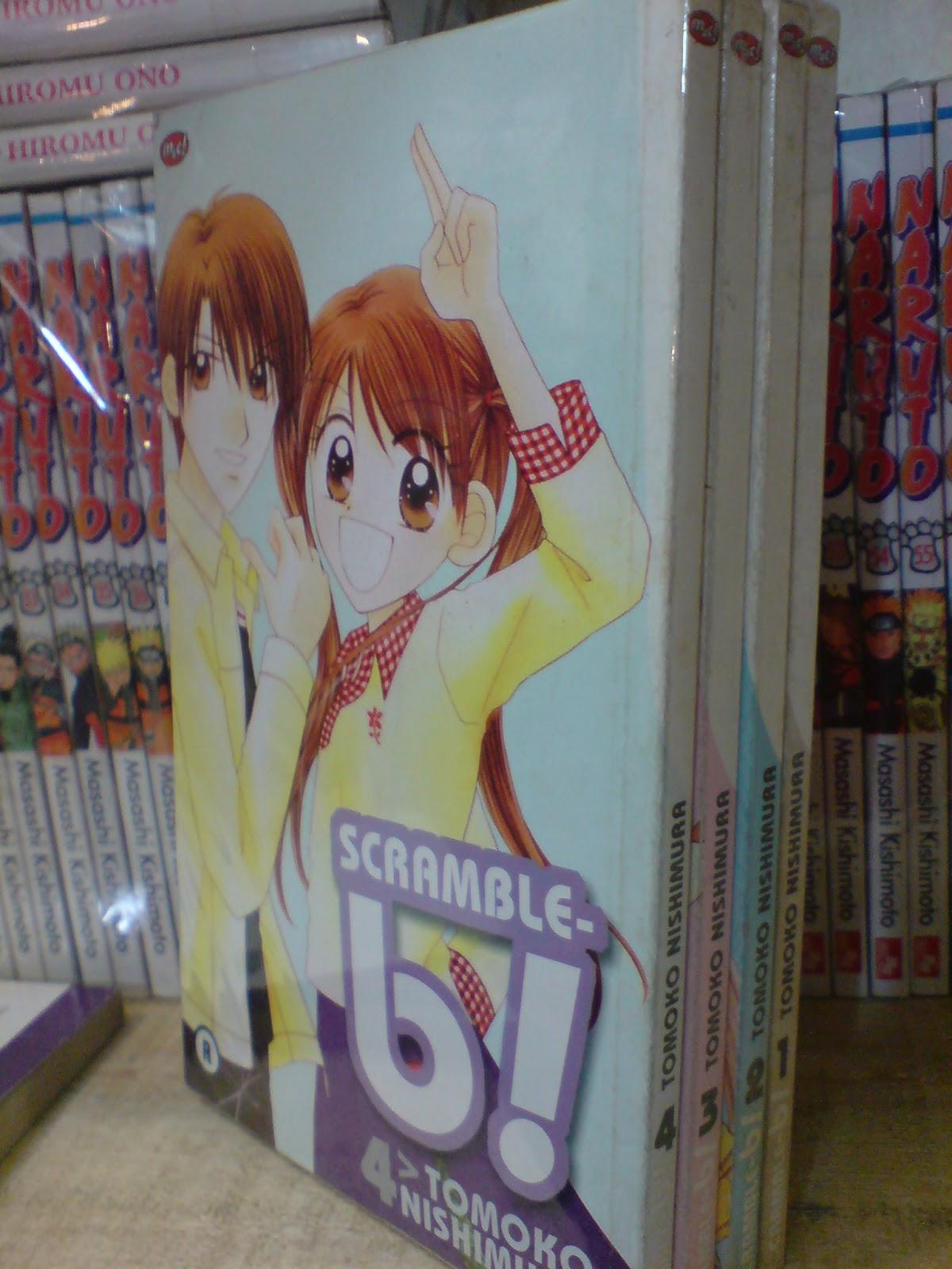 Komik Jepang Cewek Bekas Murah Scramble B 1 4
