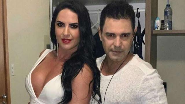 Discretos! Graciele Lacerda e Zezé Di Camargo já se casaram: 'Oficialmente'