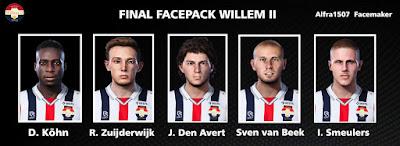 PES 2021 Facepack Final Willem II by Alfra1507