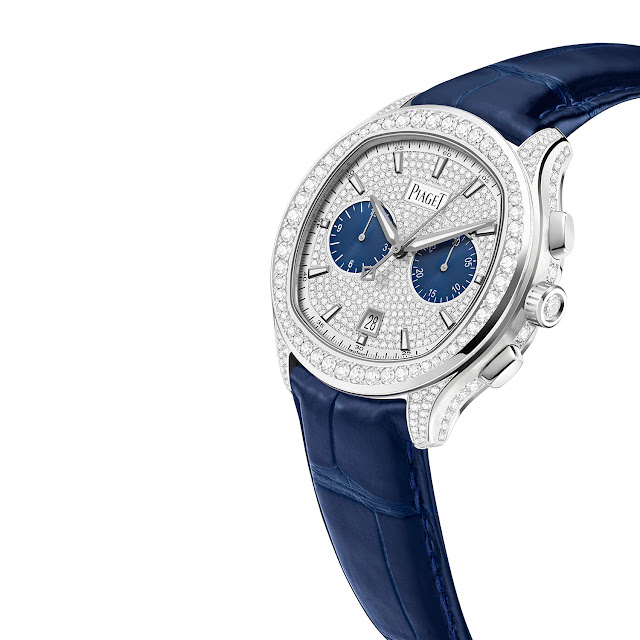Three new Piaget timepieces will celebrate father's day in style: Chronograph, Diamonds & Altiplano