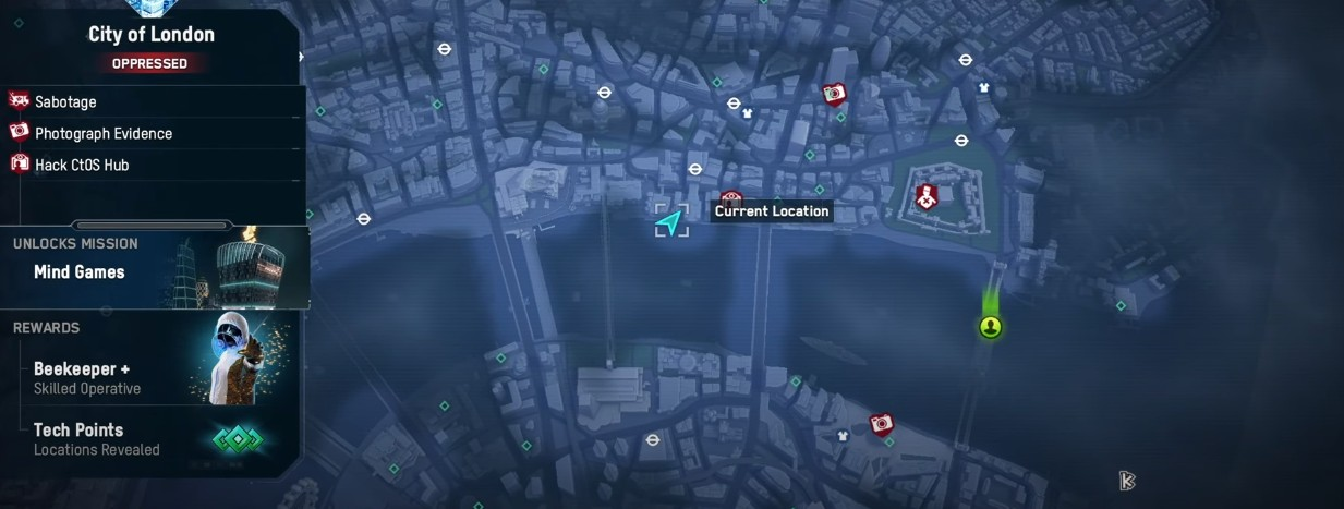 Default from Watch Dogs Map