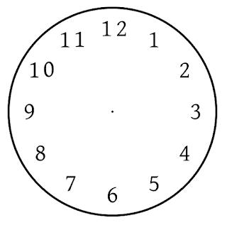 γρίφος χώρισμα αριθμών ρολογιού