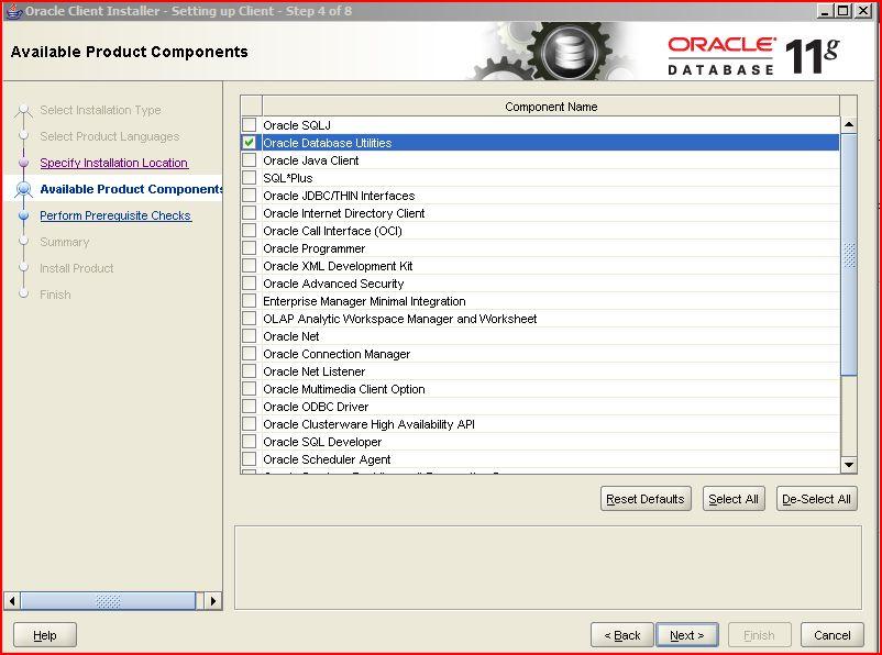 Java mon amour: Oracle Client installation on Windows