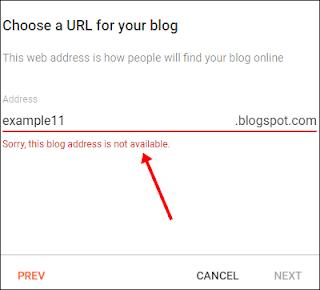 Domain Setup in Blogger