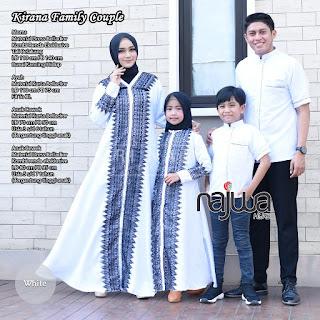 Model Baju Couple Muslim Terbaru 2019