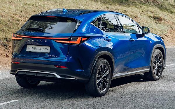 Novo Lexus NX 2023