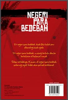 Cover Novel Negeri Para Bedebah