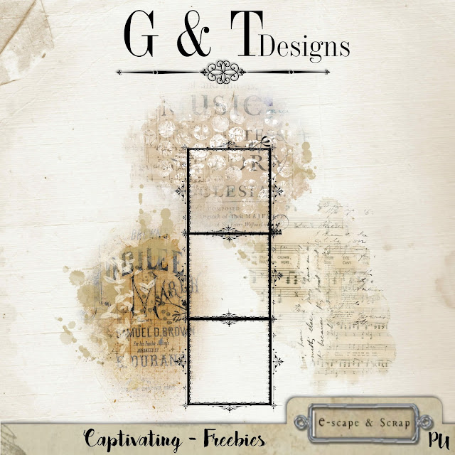 G&T Designs - Captivating kit & Freebie