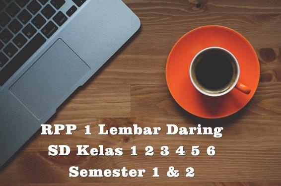 Download RPP 1 Lembar Daring SD