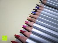 Spitze: KINGTOP 48er Buntstifte Schaft Farbstift Eco Bleistifte Kartonetui für Kunst Aquarelle gut Geschenk