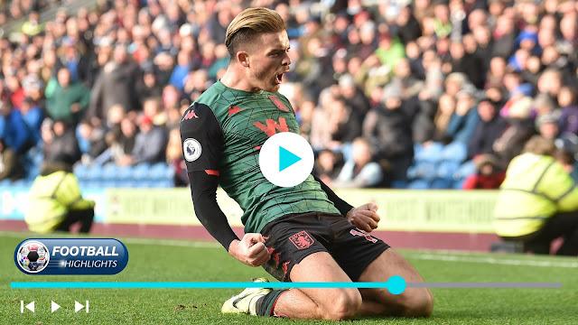 Burnley vs Aston Villa Highlights