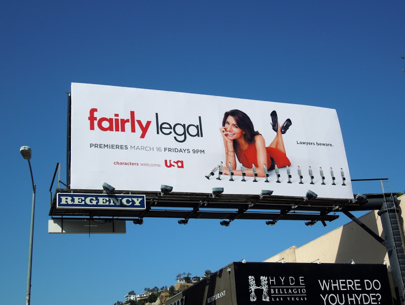 Fairly Legal 2 TV billboard
