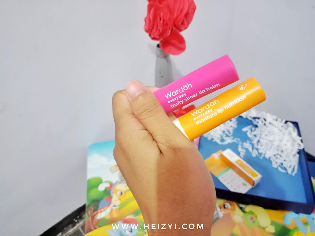 Wardah Everyday Moisture Lip Nutrition & Fruity Sheer Lip Balm
