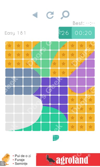 Cheats, Walkthrough for Blocks and Shapes Level 181