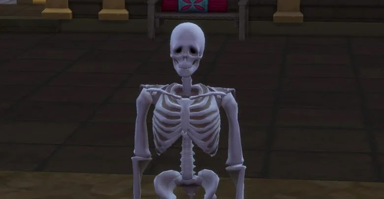 How to become a skeleton in The Sims 4