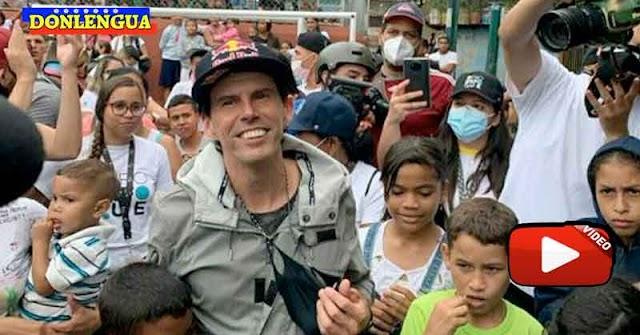 Daniel Dhers llegó a Venezuela a buscar su cheque de manos del Régimen