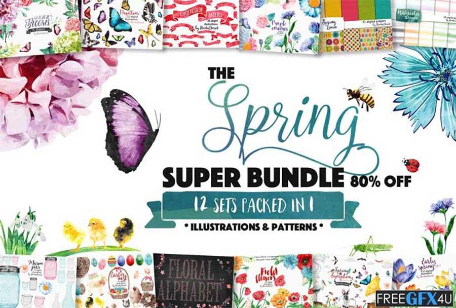 All In One Spring Design Bundle