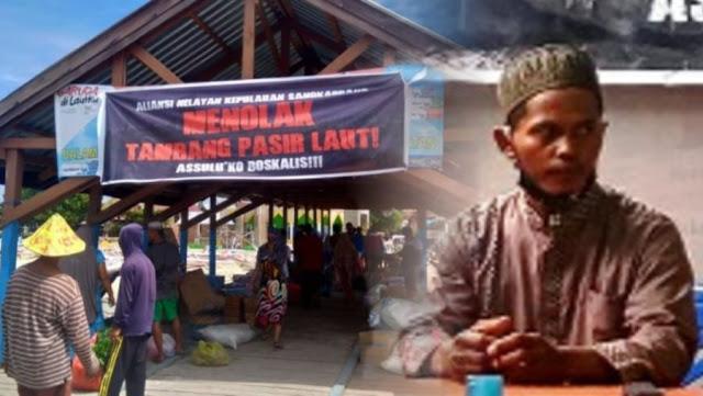 MIRIS! Robek Uang Sogokan Perusahaan Tambang Pasir, Nelayan Ini Malah Ditangkap Polisi