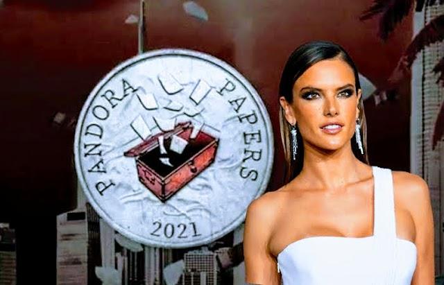 Los Pandora Papers revelan sociedad y fideicomiso offsore de la supermodelo Alessandra Ambrosio