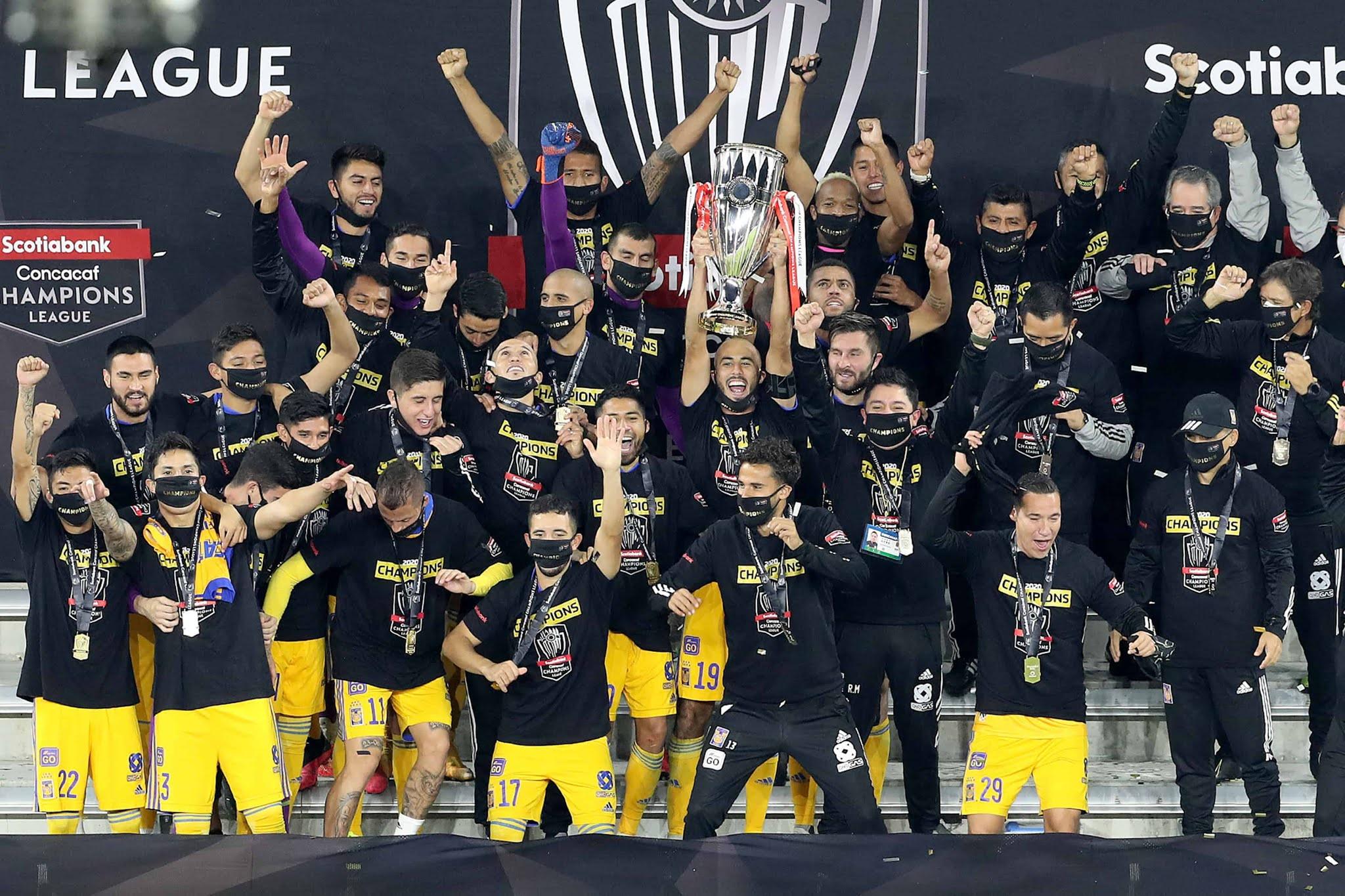 Tigres, con los argentinos Nahuel Guzmán y Guido Pizarro, ganó la Liga de Campeones de la Concacaf