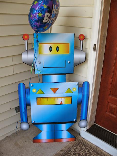 robot cut-out