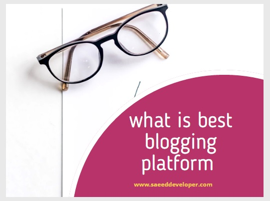 Best Blogging Platform 2020