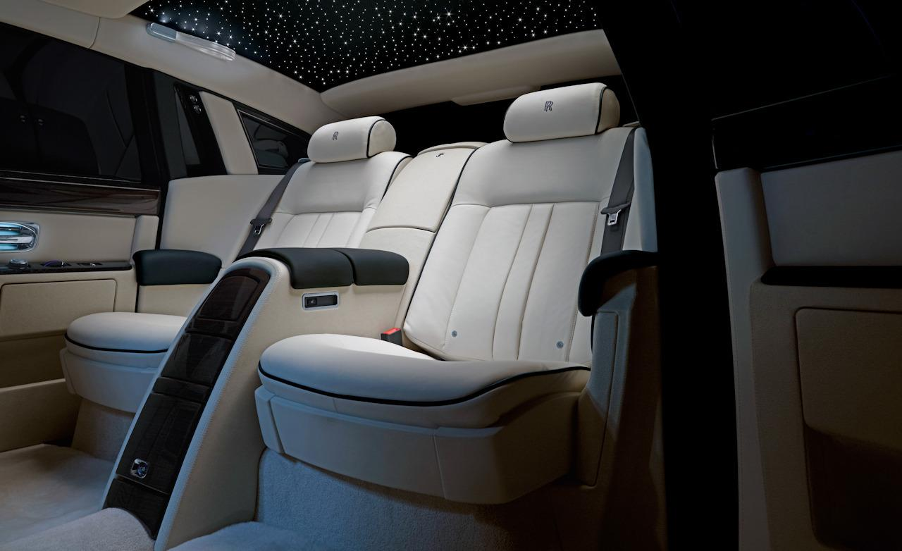 SPORTS CARS: Rolls Royce Ghost Interior Images