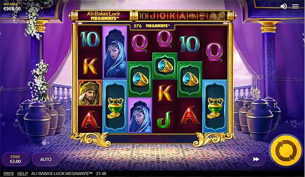 Main Gratis Slot Indonesia - Ali Baba's Luck Megaways Red Tiger Gaming
