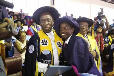 DELSU Best Graduating Student With CGPA Of 4.85 Gets Automatic Employment (Pictures)