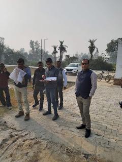 नगर पंचायत जैदपुर मे बनेगा मैरिज हाल व खेल का मैदान