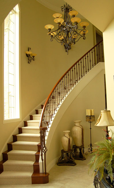 New home designs latest. Beautiful stairs railing designs ...