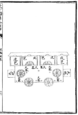 Ming Chinese gun wagon