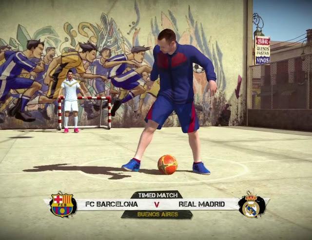 تحميل لعبة فيفا ستريت fifa street 1 كرة قدم الشوارع للكمبيوتر برابط مباشر