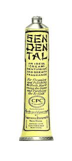 digital beauty antique illustration toothpaste download