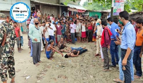 चकिया बांसघाट गांव में श्मशान घाट से अंतिम संस्कार कर लौट रहे 5 लोग नहाने के क्रम में डूबे जिसमें दो की हुई मौत