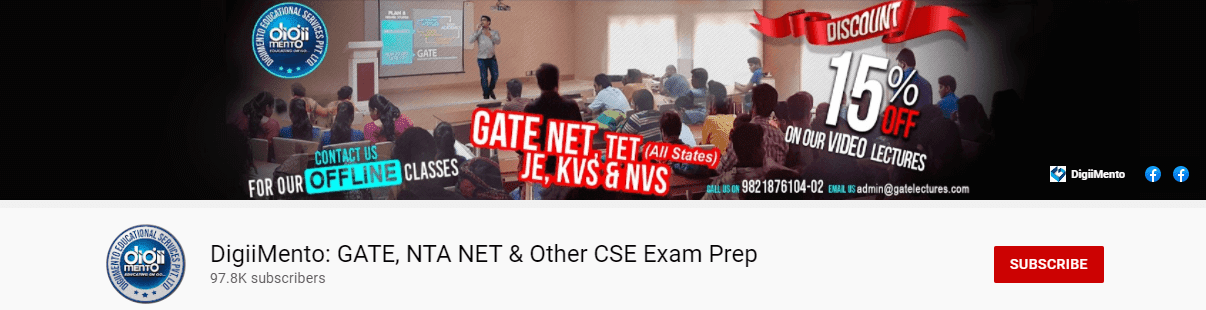 DigiiMento GATE  NTA NET &Other CSE Exam Prep