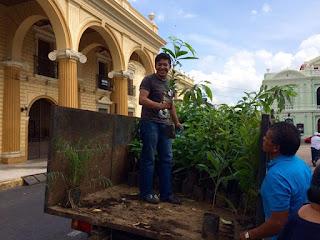 Nueva Acrópolis Santa Ana crea conciencia ecológica y regala más de 400 árboles
