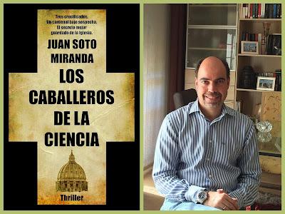 """""""Los caballeros de la ciencia"""", novela de suspense, thriller español"""