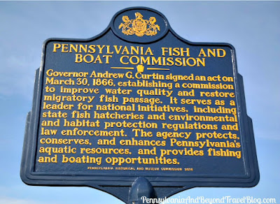 Pennsylvania Fish and Boat Commission Historical Marker