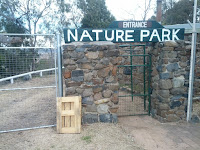 Now defunct nature park at Mount Panorama