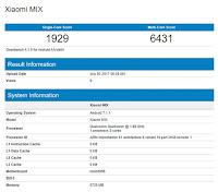 Xiaomi Mi Mix 2 Muncul di Geekbench Gunakan Snapdragon 835