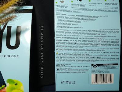 kandungan NYU Black 1.10