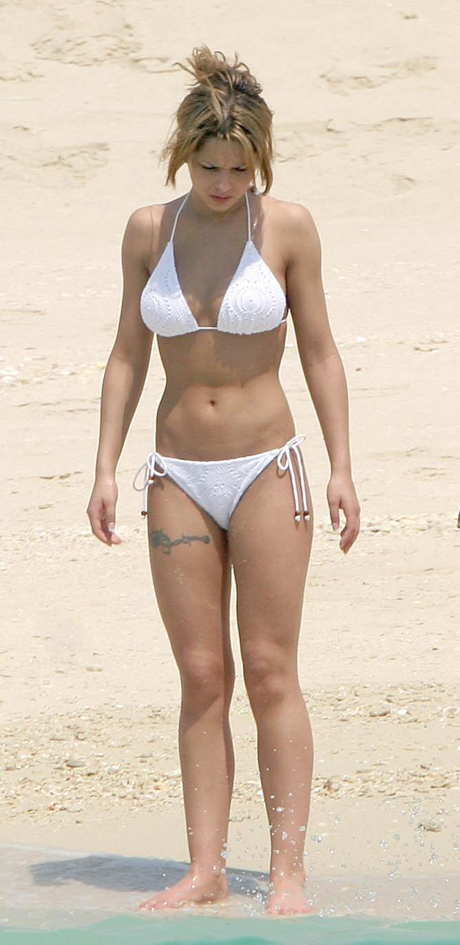 cheryl cole bikini